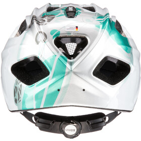 UVEX Quatro Helmet Kinder white/turquoise